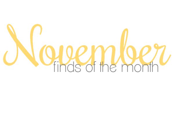 november finds