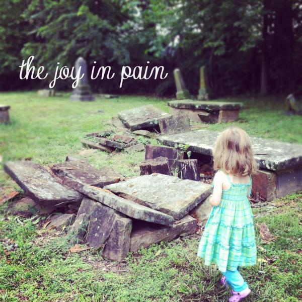 the joy in pain
